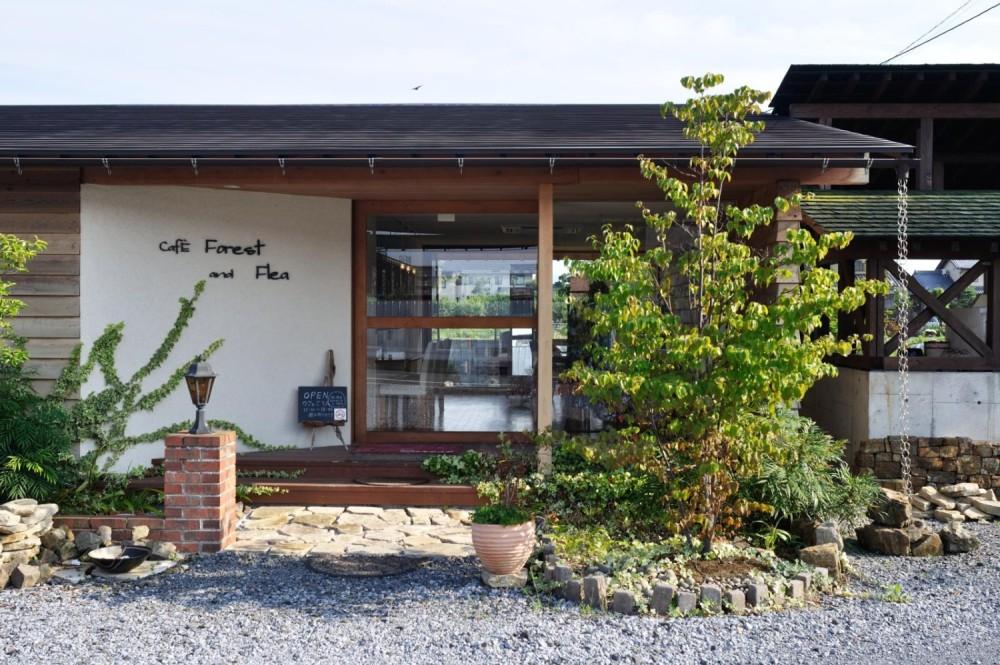 CafeForest&Flea 平屋のカフェ