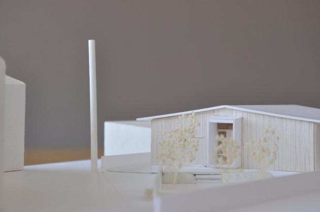 平屋の模型