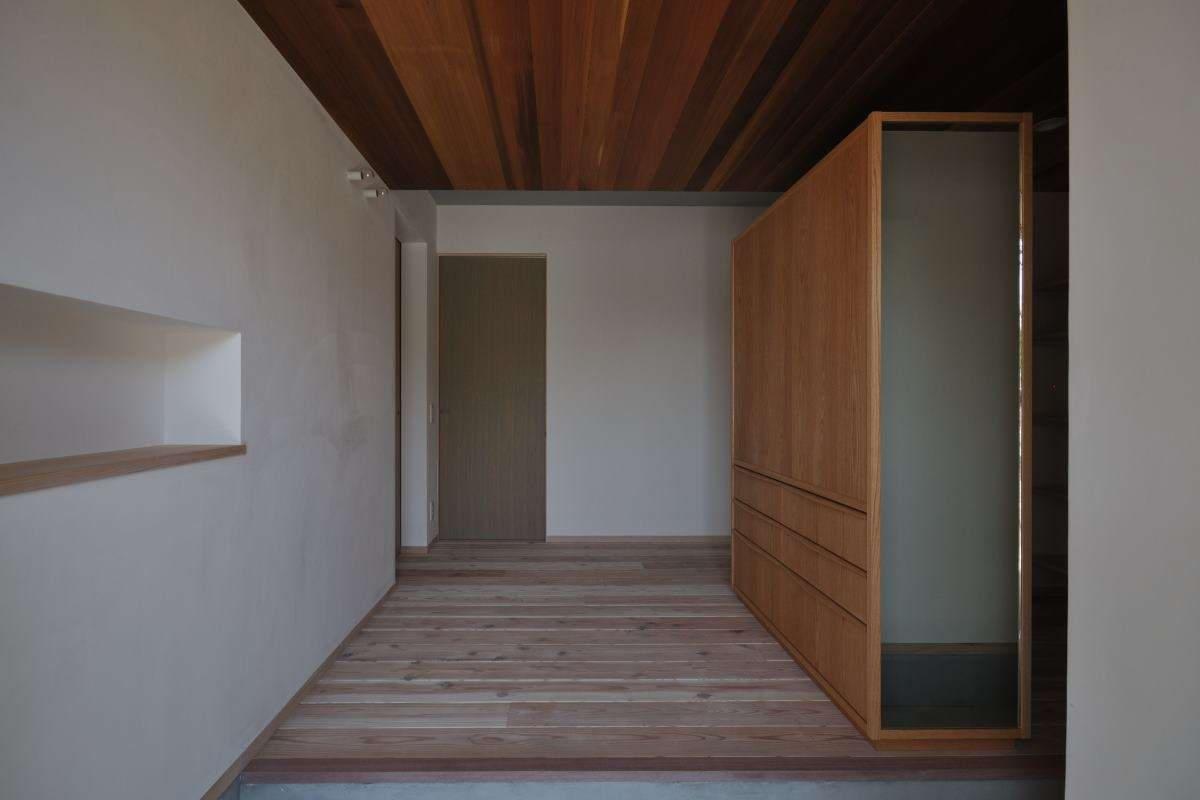 玄関オーク家具