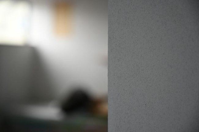 左官壁の陰影